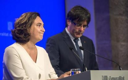 """Ada Colau: """"En Barcelona el 1-O se podrá participar sin poner en riesgo institución ni servidores públicos"""""""