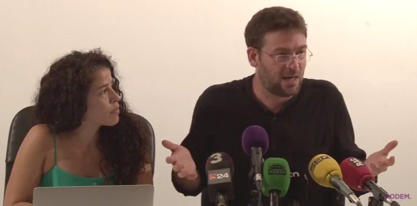 Podemos Cataluña votará en contra de la Ley del Referéndum del 1-O en Cataluña