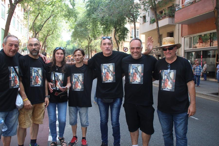 El catalán fundador de 'Tierra Libre', Frederic Bentanachs, y CUP contra la Guardia Civil