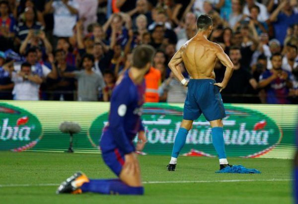 Asalto del Real Madrid en el Campo Nuevo en orto festín de Cristiano y Asensio