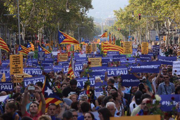 500 mil personas convierten a «No Tengo Miedo» al terrorismo en antipatía y rencor hacia España