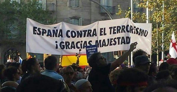 """España y Catalanes denuncia """"la paranoia asentada"""" en el separatismo durante la manifestación"""