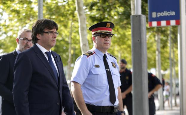 """(EEUU) avisó en mayo a la Generalidaddel riesgo de atentado en """"Rambla de Barcelona"""""""