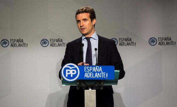 """El PP descarta cualquiera """"sobreactuación"""" en Cataluña como la intervención de Gobierno"""