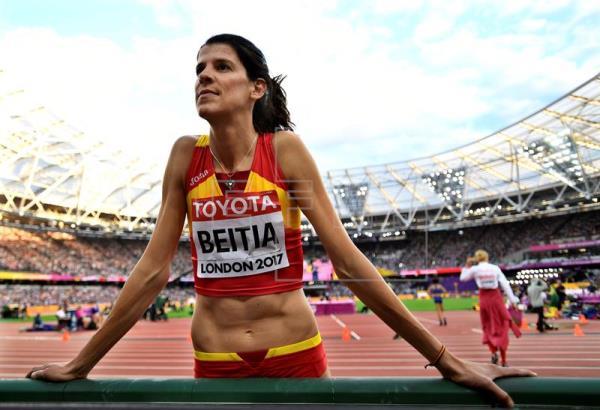 La campeona olímpica Ruth Beitia registra su baja como diputada del PP