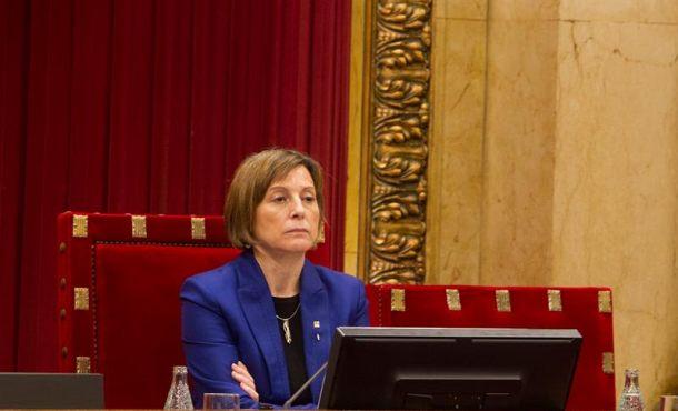 Forcadell borra del orden del día a la Ley del Referéndum de la reunión de la Mesa