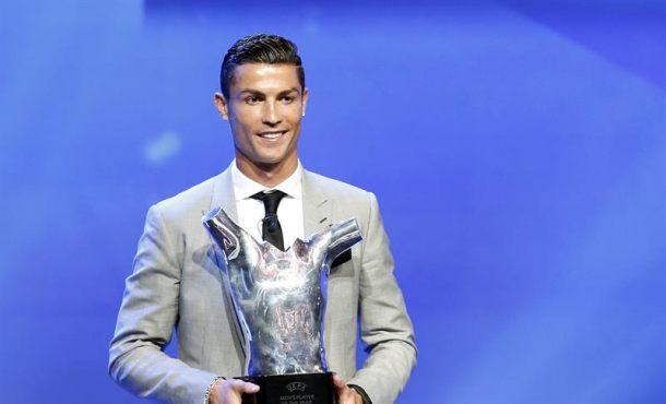 Cristiano, «Mejor Jugador Europeo» por delante de Messi y Bufon