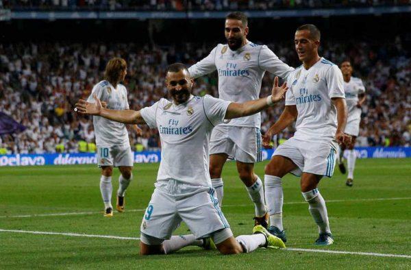 Un poderoso Real Madrid se divierte ante FC Barsa ganando la Supercopa de España