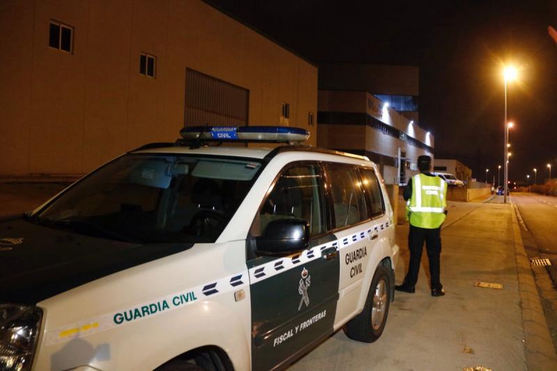 La Guardia Civil registra la imprenta de Constantino (Tarragona) ante preparativos del 1-O