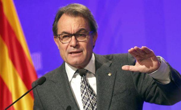 Artur Mas y consejeros citados para abonar la fianza 5 millones de euros por el 9N