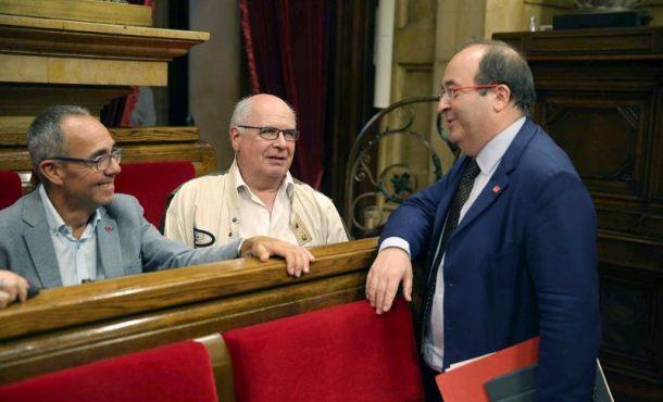 Toda la Izquierda catalana no es separatista, Coscubiela arranca una ovación de Cs, PSC y PP