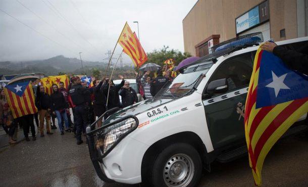 La Guardia Civil inspecciona imprentas por el 1-O e interviene material en Barcelona