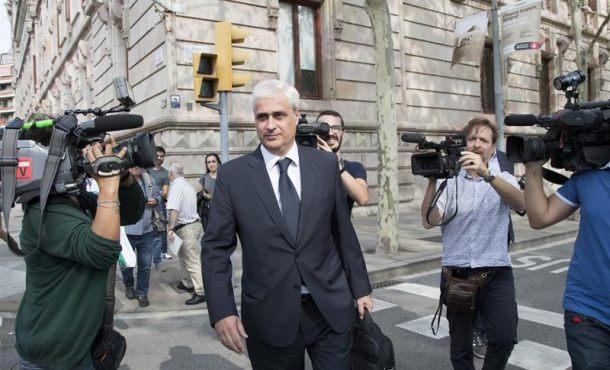 Anticorrupción pide investiga al ex consejero de Justicia de la Generalidad por el caso del 3%
