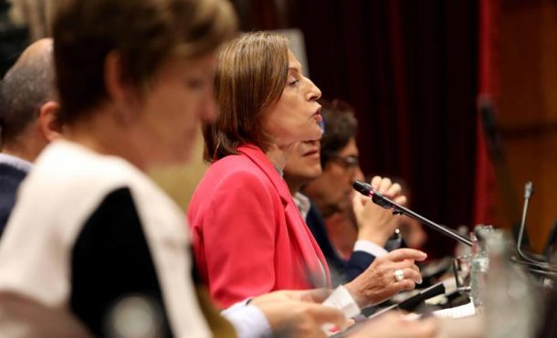 """Forcadell pide recusar a los jueces y magistrados españoles por su """"falta de imparcialidad"""""""
