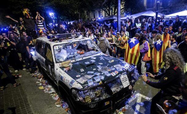 Rebelión y sedición en Cataluña