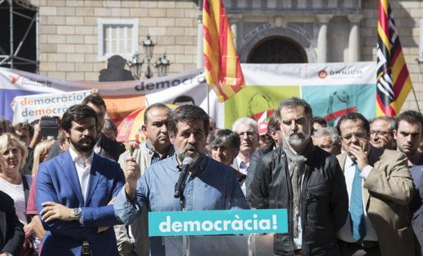 """El fiscal señala a los líderes de entidades separatistas ANC y Ómnium por delito """"sedición"""""""