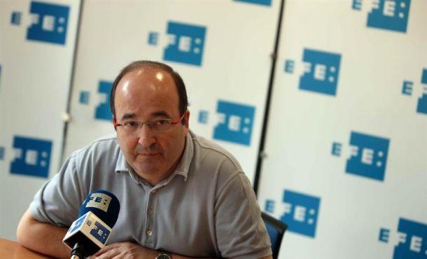 """""""El PSC abandonará el hemiciclo cuando se voten"""" Leyes de Transición de Cataluña y Referéndum"""