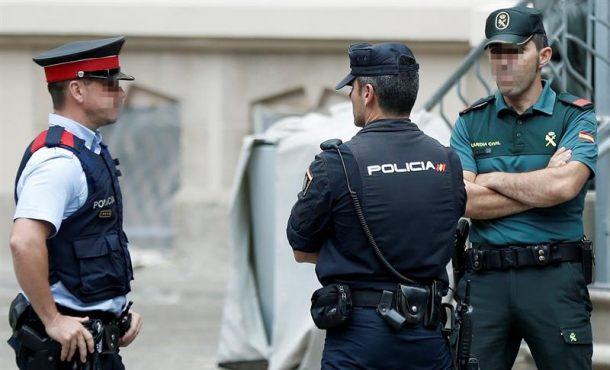 Finaliza la reunión de coordinación policial contra el 1-O en Cataluña tras una hora