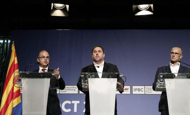 Generalidad: Hay 2.315 colegios electorales y 7.235 personas listos para domingo 1-O en Cataluña