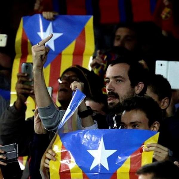 La Justicia confirma la prohibición de banderas separatista (Estrellada) en Copa del Rey