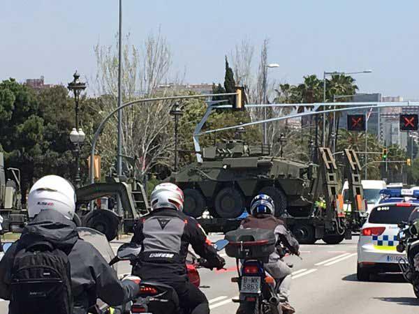 Madrid comunica a Puigdemont el envío a Cataluña de refuerzos de Guardia Civil y Policía Nacional