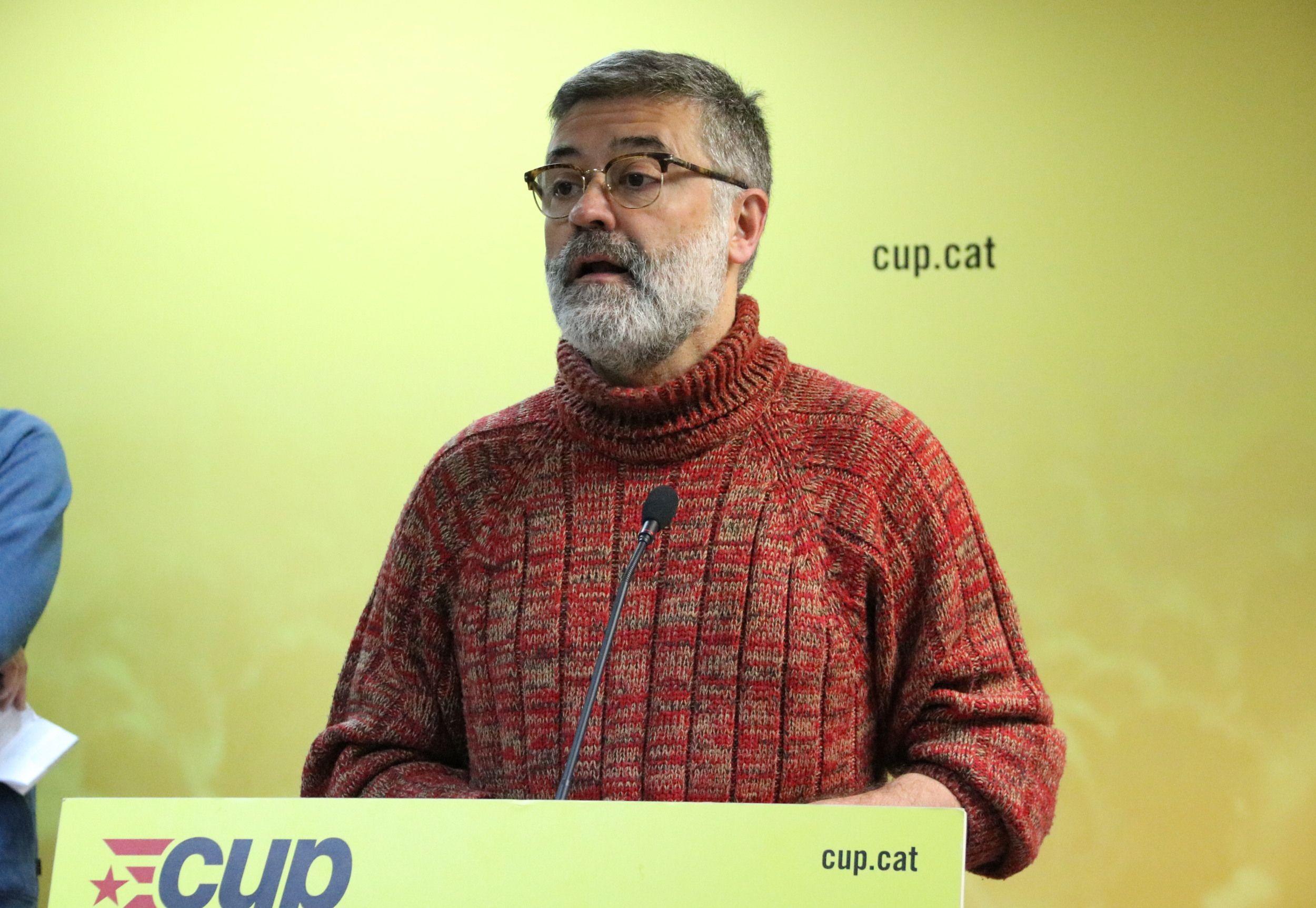 """CUP: """"Ahora es el momento de que la gente (separatista) ocupe el espacio público"""" en Cataluña"""