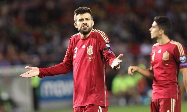 """El polémico Piqué deja por fin la Selección en paz, """"una decisión muy meditada"""""""