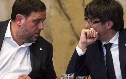 """""""Habrá referéndum en Cataluña y se votará el 1-O, hagan lo que hagan"""" Mozos, Guardia Civil y Policía"""