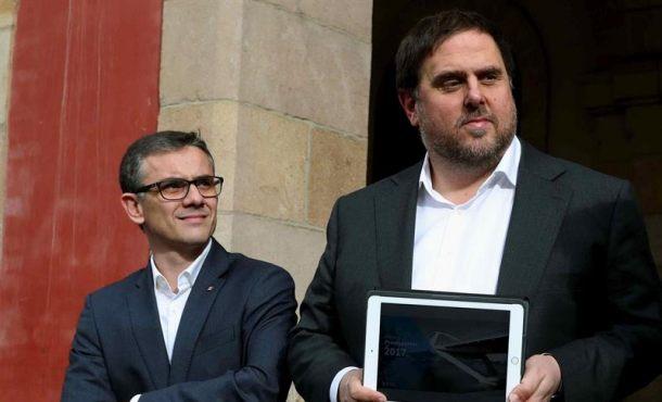 """Uno de los detenido alto cargo de la Generalidad comparece ante el juez al aceptarse su """"habeas corpus"""""""