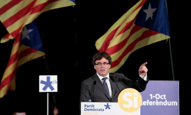 """Puigdemont pide al Tribunal apartar """"de forma inmediata"""" a la Fiscalía de la investigación del 1-O"""