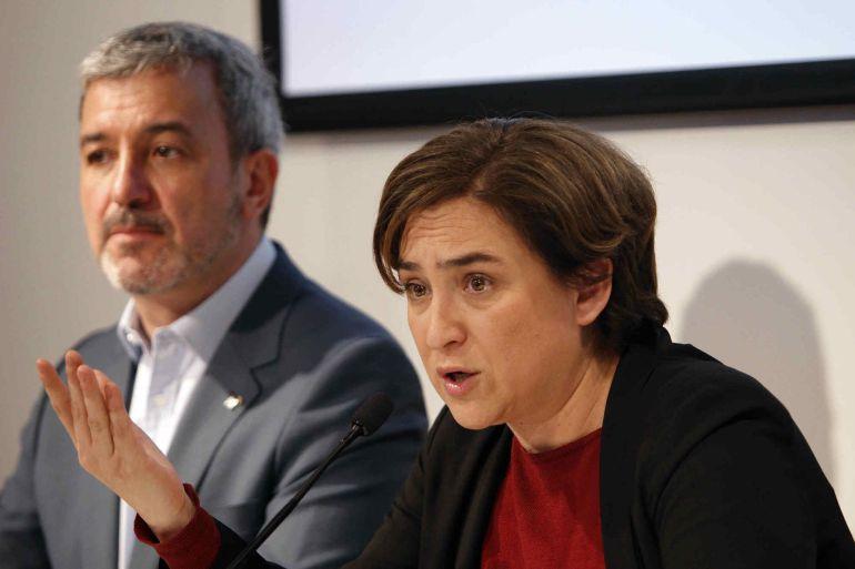 La postura de Ada Colau frente un 1-O ilegal genera fricciones con sus socios del PSC