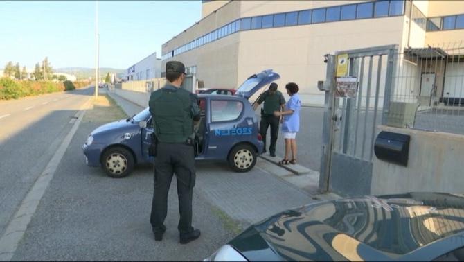 La Guardia Civil sigue con registros en la imprenta de Tarragona que haría papeletas del 1-O