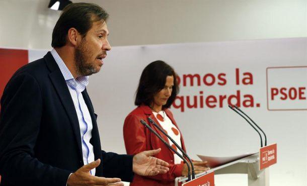 """El PSOE apoyará el Artículo 155 en Cataluña y no permitirá """"trocear la Soberanía Nacional"""""""