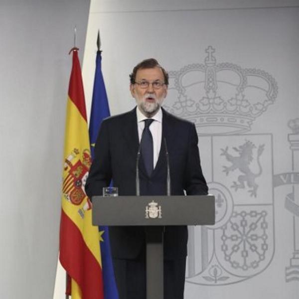 """Rajoy avisa a la Generalidad de Cataluña de que está """"a tiempo de evitar males mayores"""""""