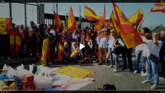 "Apoyo a Policía Nacional en Puerto de Barcelona ante rechazo de ""estibadores separatistas"""