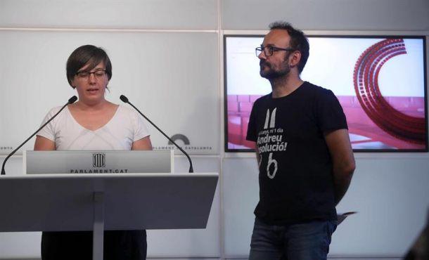 """CUP: """"El Parlamento de Cataluña declarará la independencia de Cataluña lunes 9-Oct"""""""