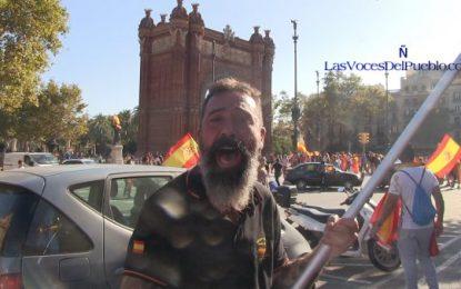 """""""Viva Cataluña y Legión. Oleee, los espermatozoides de mi padre que me trajeron al mundo"""""""