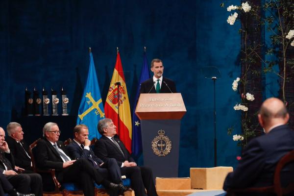 """El Rey pide """"hacer frente a la secesión en Cataluña sin miedo a arbitrariedad y rencor"""" separatista"""