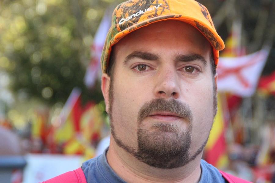 """Luís: """"Este señor Puigdemont quiere meternos en el mismo saco, tiene aire de dictador"""""""