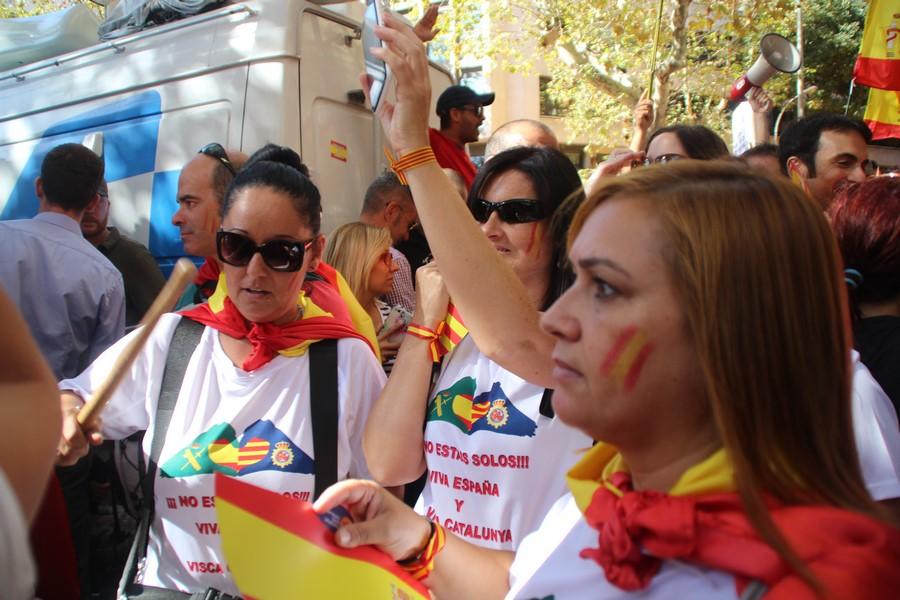 «Todos Somos Cataluña», lema de marcha unitaria del 29-O contra el separatista en Barcelona