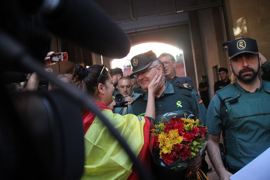 "Desconvocan el acto de San Vicente de Los Horts porque ""CUP renunció ataca a Guardia Civil"""