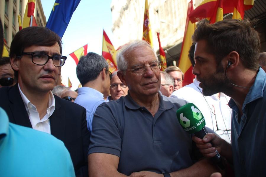 Borrell, activista de las manifestaciones contra el racismo (1-O), nuevo ministro de España