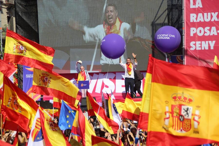 """En """"la mayoría de la Escuela Pública de Cataluña se educa a los niños para odiar España"""""""