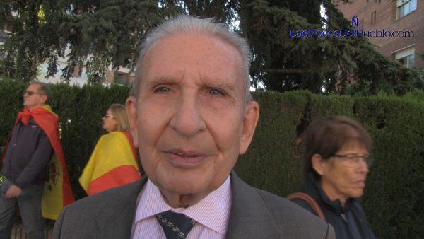 """Ramón, un anciano catalán: La furia separatista """"se quedará en nada, eso se va a diluir"""""""