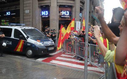 El Tribunal catalán pierde la confienza en Mozos y Policía Nacional toma el control del Edificio