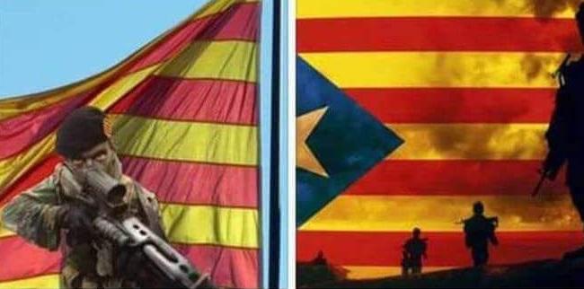 """Llaman a """"voluntarios para formar un Ejército revolucionario de República Catalana"""" de JxSí y CUP"""