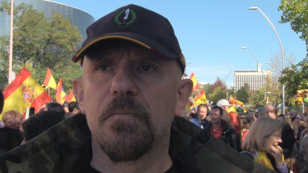 """Javier: """"Tenemos que estar todos unidos"""" porque unos separatistas """"se quieren cargar el país"""""""