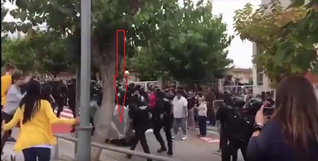 Detenido los agresores separatas que atacaron a patadas la cabeza de un Guardia Civil el 1-O