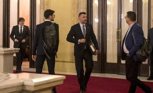 Dimite el consejero de Empresa de Generalidad de Cataluña a vísperas del Artículo 155