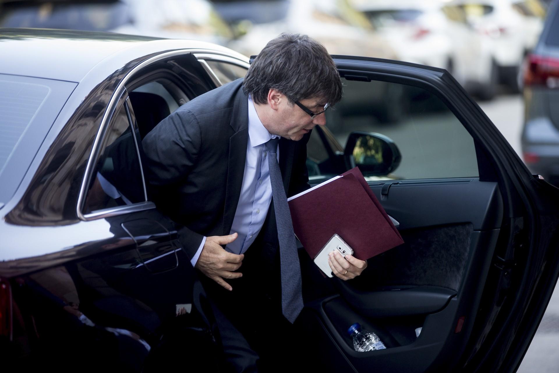 Puigdemont detenido en Alemania